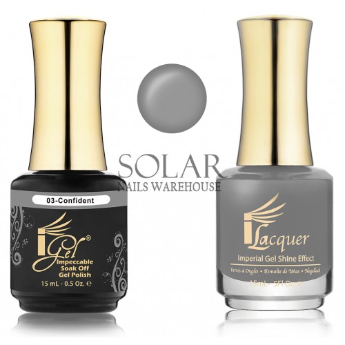 Igel 003 Confident Duo Pack Solar Nails Warehouse