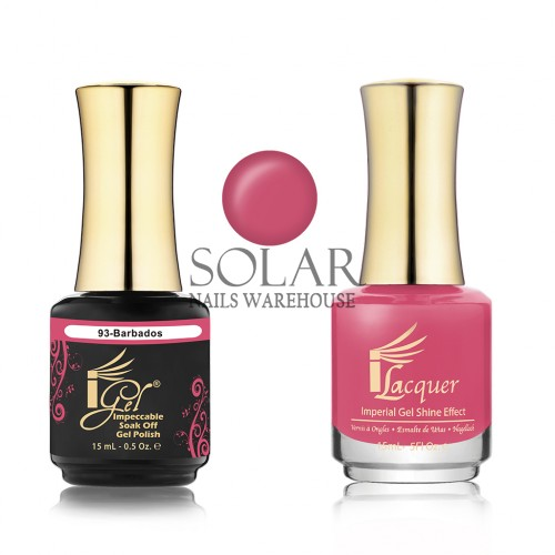 Igel 093 Barbados Duo Pack Solar Nails Warehouse