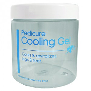16 oz. Pedicure Cooling Gel Jar