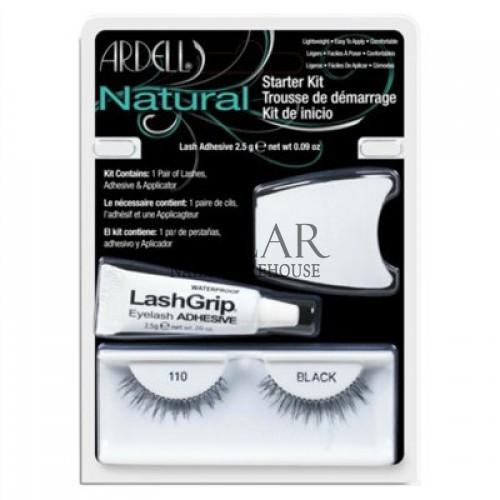 659de740462 Ardell Natural Starter Kit - 110 Black, Solar Nails Warehouse
