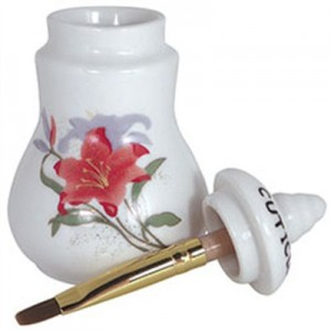 Cuticle Oil Jar with Brush - Small