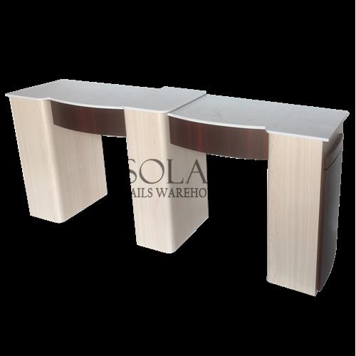 Solar Nail Table - M2 - DOUBLE, Solar Nails Warehouse