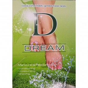 Dream Mani & Pedi Spa - 5 in1 (GREEN TEA)