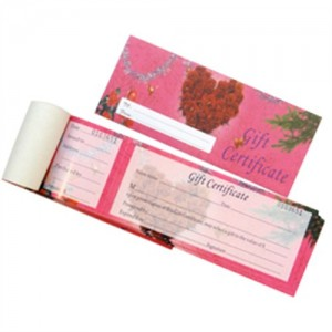 Gift Certificate with Envelope+Pen