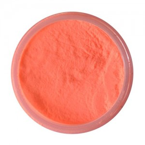 Solar \'Glow in the Dark\' powder 2 oz - ORANGE NEON