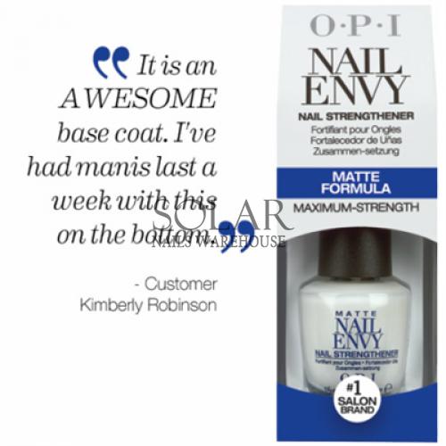 OPI Nail Envy - Matte Formula, Solar Nails Warehouse