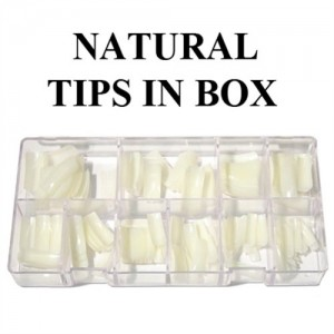 LM Natural Tips - 550pcs/case (0 to 10)