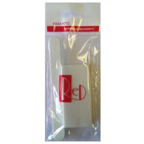 Disposable Manicure Kit Mk 300 Packs Case Solar Nails