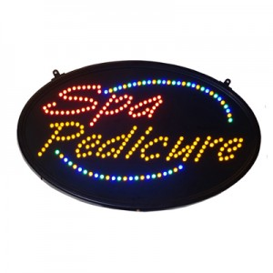 LED Sign - Spa Pedicure