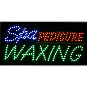 LED Sign - Spa Pedicure Waxing