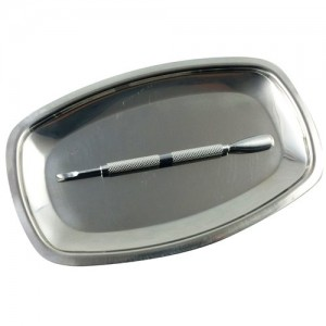 Stainless Steel Utility Tray (small)