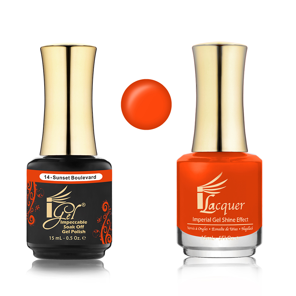 iGel 014 Sunset Boulevard DUO PACK
