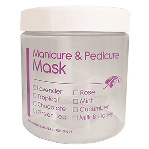 16 oz. Manicure & Pedicure Mask Jar
