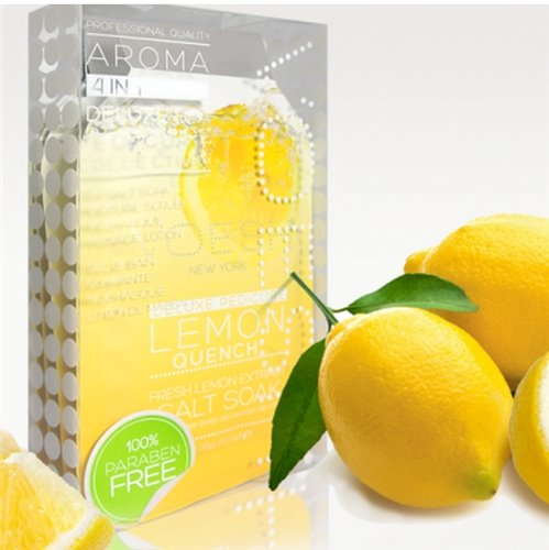 Voesh Pedi in a Box Deluxe (4-in-1) Lemon Quench