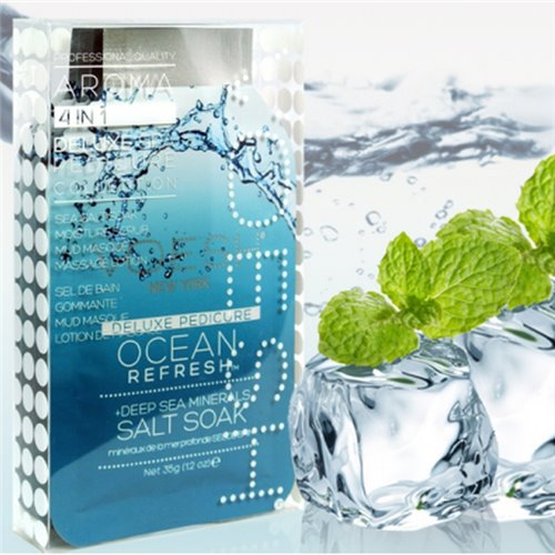 Voesh Pedi in a Box Deluxe (4-in-1) Ocean Refresh