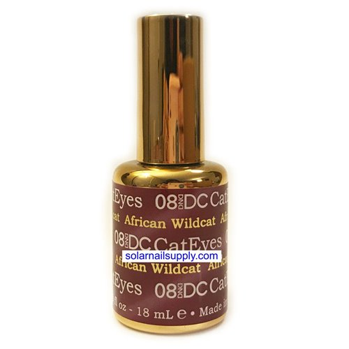 DND Cat Eye Gel - 08 AFRICAN WILDCAT