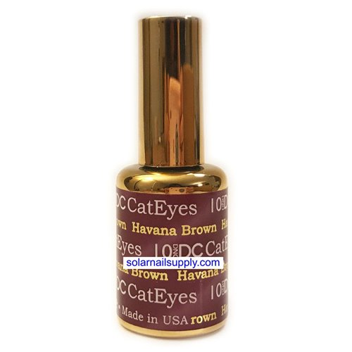 DND Cat Eye Gel - 10 HAVANA BROWN