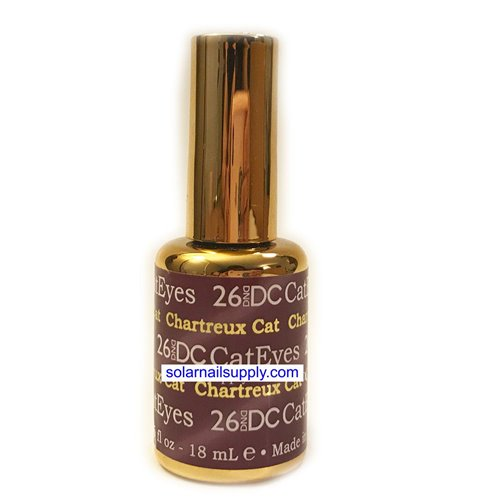 DND Cat Eye Gel - 26 CHARTREUX CAT