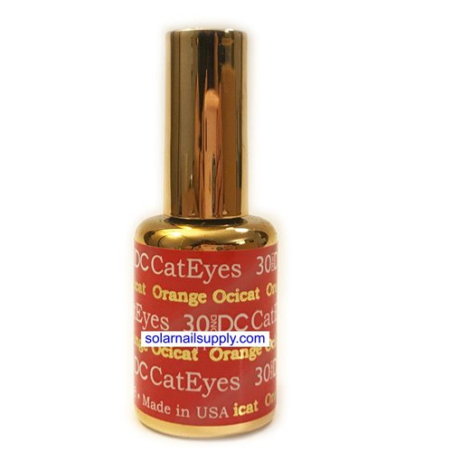 DND Cat Eye Gel - 30 ORANGE OCICAT