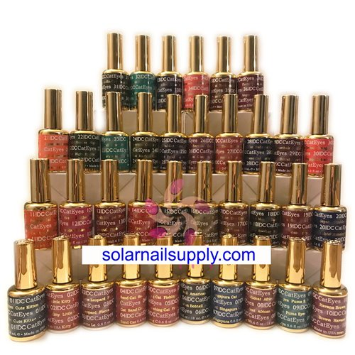 1-DND Cat Eye Gel - WHOLE SET 36 COLORS
