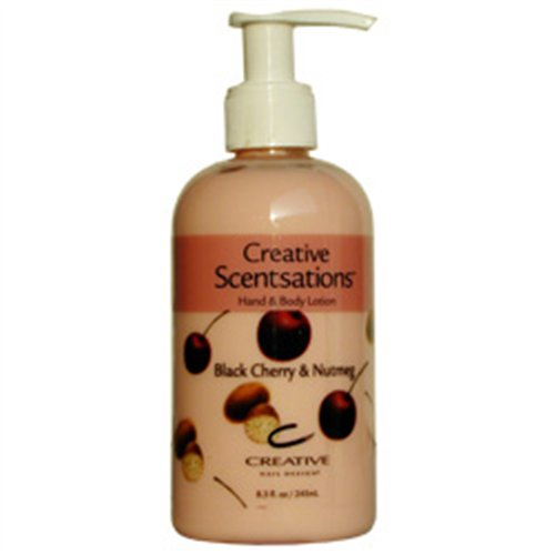 CND Scentsations Lotion - Black Cherry & Nutmeg - 8.3 oz