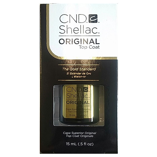 1 CND-Shellac ORIGINAL Top Coat - .5 oz