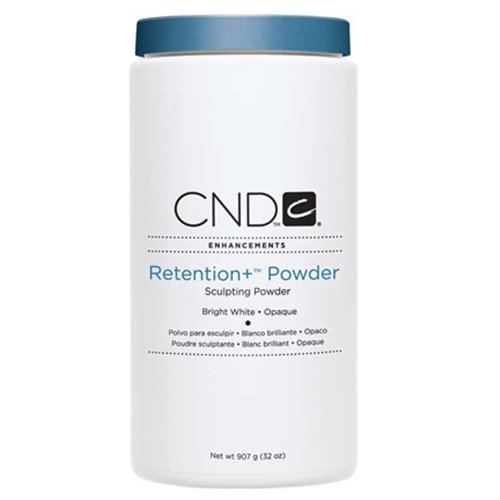 CND Retention+ Powder-Bright White Opaque - 32 oz