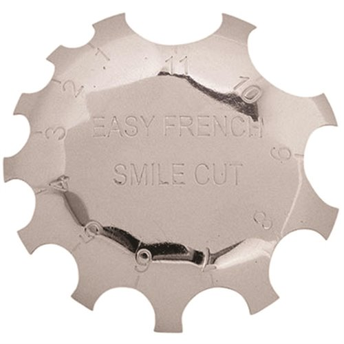 French Deep C Smile Line Tool (Pink Cut)
