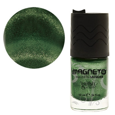 Gelish Magneto Nail Lacquer Polish - Polar Attraction Green