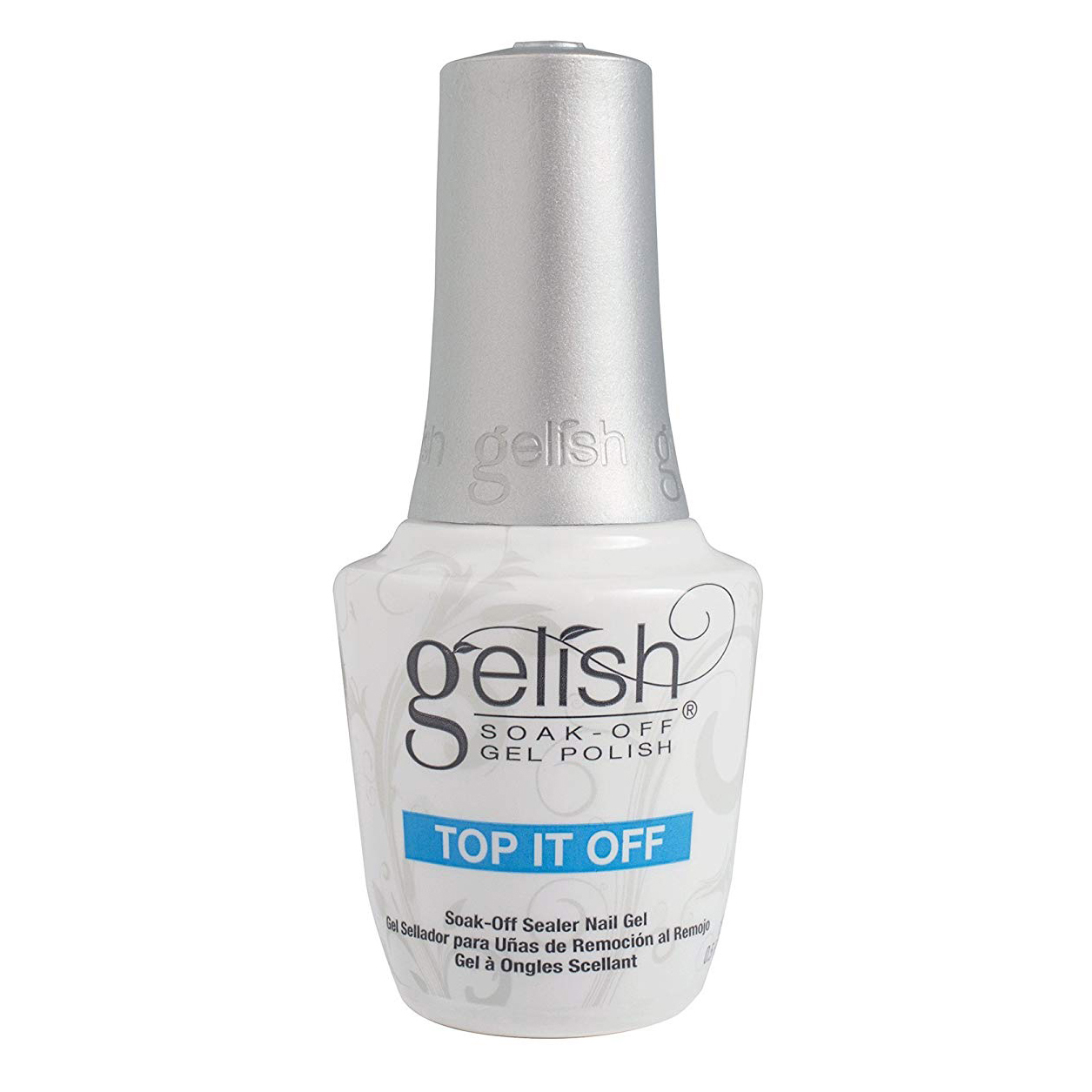 001-Gelish TOP IT OFF - .5 oz