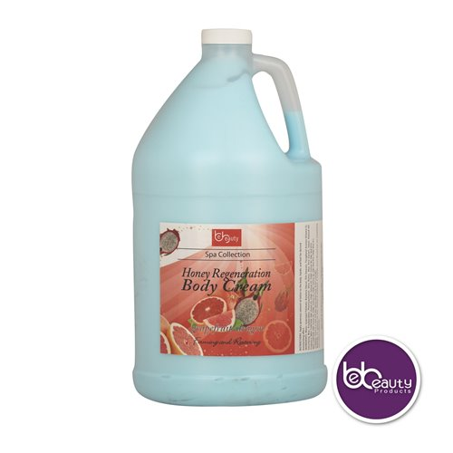 BeBeauty Honey Regeneration Body Cream - Grapefruit Dragon - 1gal.