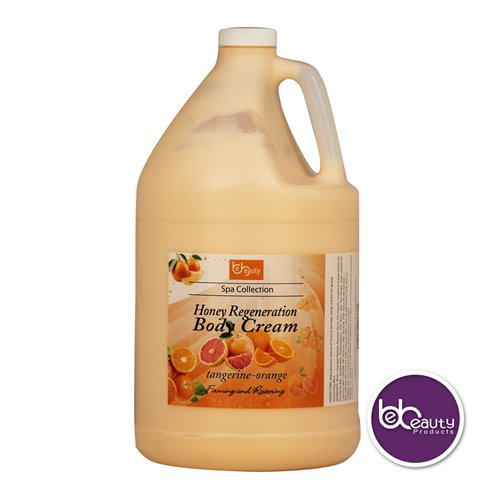 BeBeauty Honey Regeneration Body Cream - Tangerine Orange - 1gal.