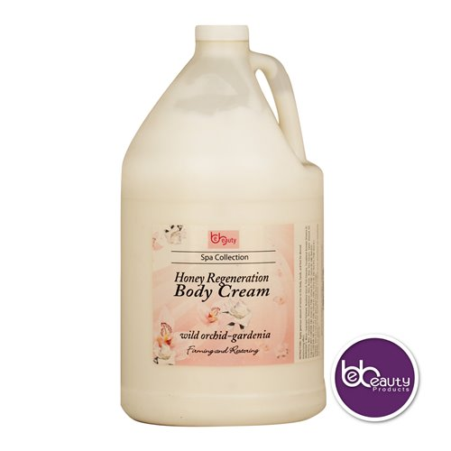 BeBeauty Honey Regeneration Body Cream - Wild Orchid Gardenia - 1gal.