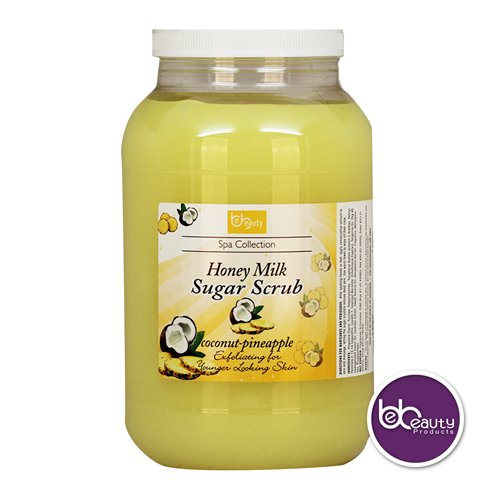 BeBeauty Honey Organic Sugar Scrub - Coconut Pineapple