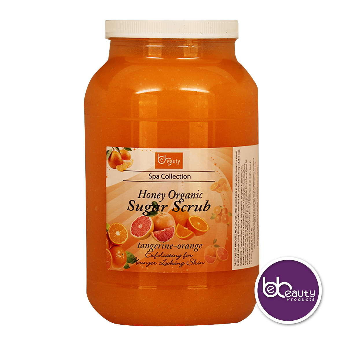 BeBeauty Honey Organic Sugar Scrub - Tangerine Orange