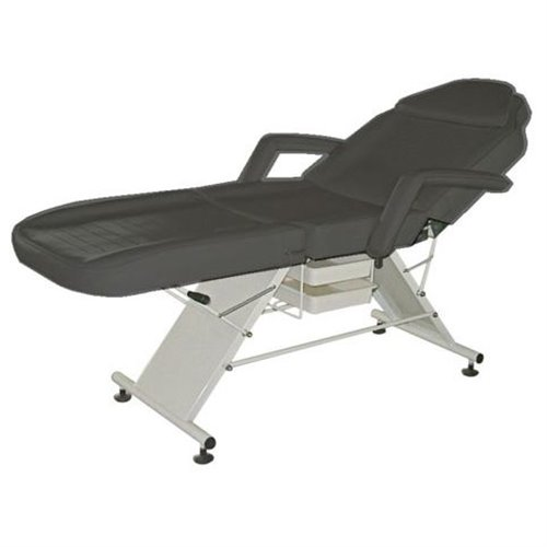 Facial Chair K-806 (BLACK) with round stool