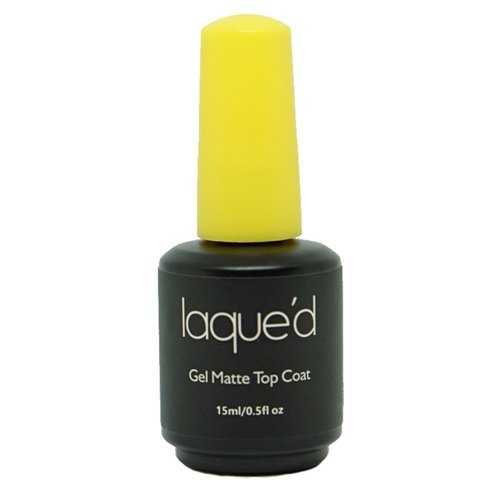 1 LAQUED Matte Gel Top - 0.5 oz