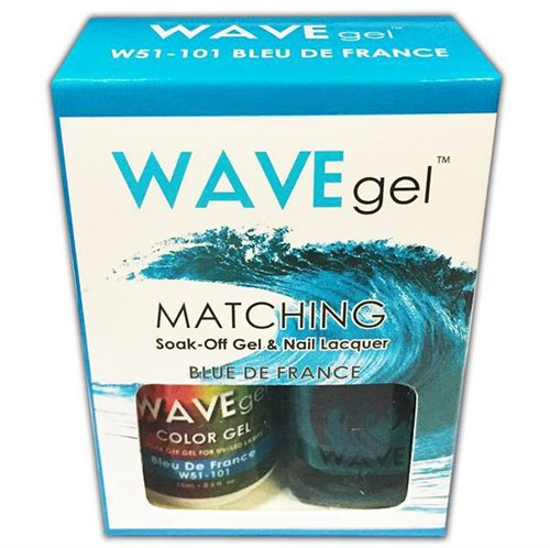 Wave Gel Duo - 101 Bleu De France