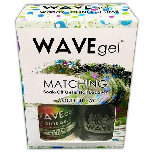 Wave Gel Duo - 109 Confetti Time