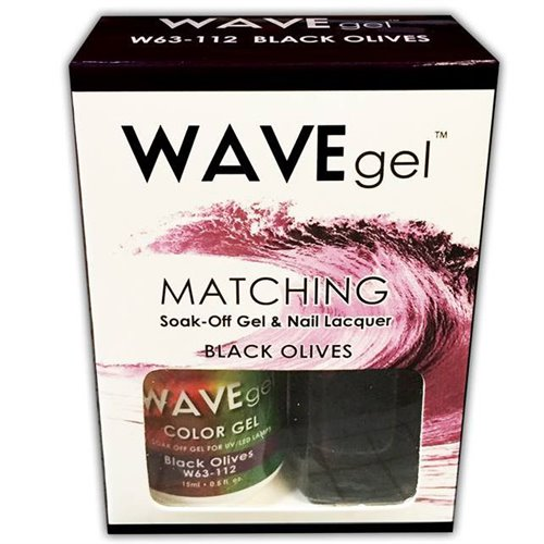 Wave Gel Duo - 112 Black Olives