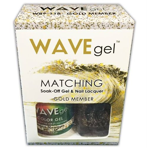 Wave Gel Duo - 118 Gold Member
