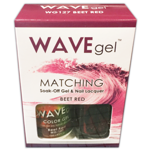 Wave Gel Duo - 127 Beet Red