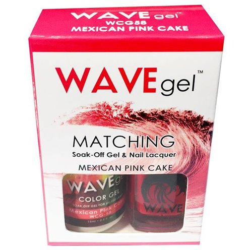 Wave Gel Duo - 058 Mexican Pink Cake