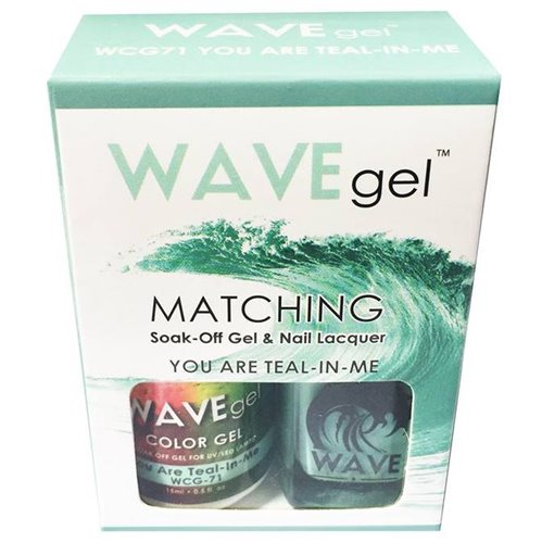 Wave Gel Duo - 071 You Are Teal-in-me