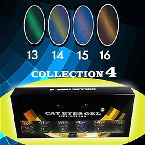 1-Wave Cat-Eye Gel Set #4