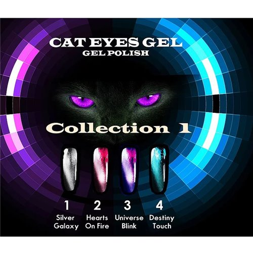 1-Wave Cat-Eye Gel Set #1
