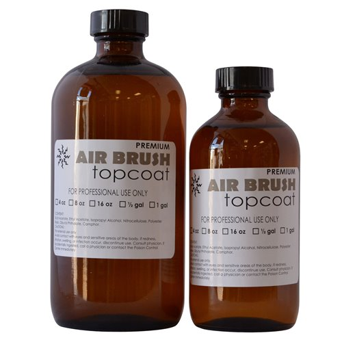 Solar Airbrush Top Coat (4oz-8oz-16oz) NO GLOW