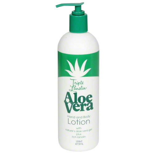 Triple Lanolin Aloe Vera Hand & Body Lotion - 20 oz