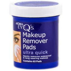 Andrea EyeQ's Eye Make-Up Remover Pads - Ultra Quick - 65 ct