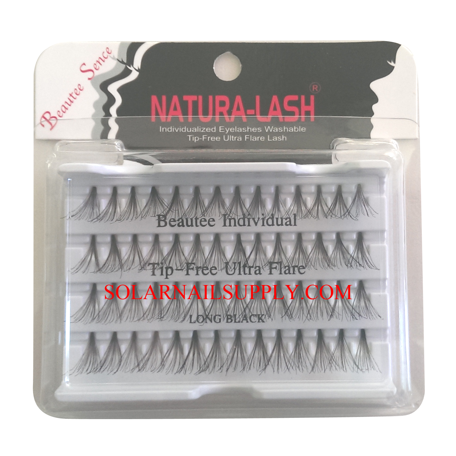 Beautee Sense Natura-Lash ULTRA FLARE - Black - 72 pack/case